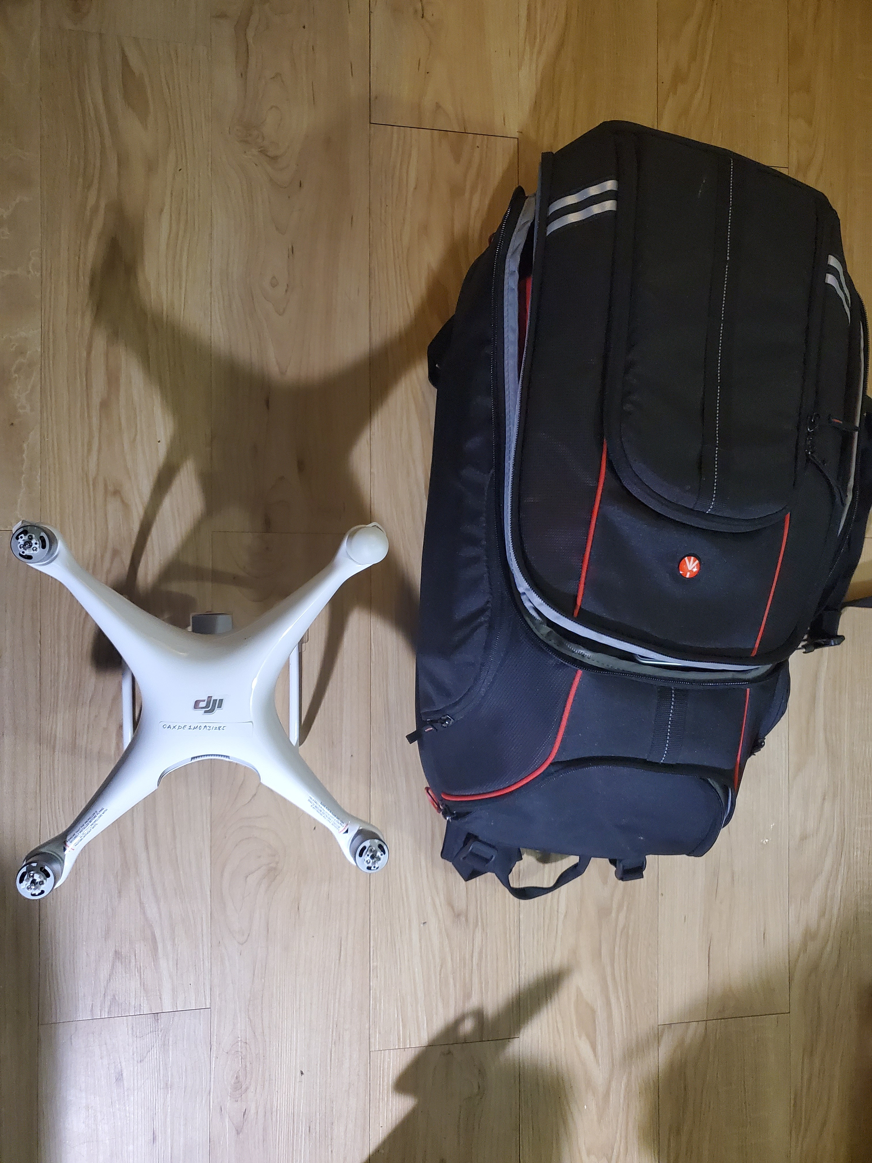 manfrotto phantom 4 drone backpack review