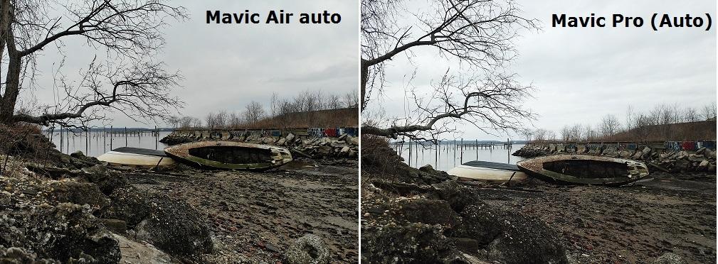 mavic air 1 vs mavic pro 1 camera comparison