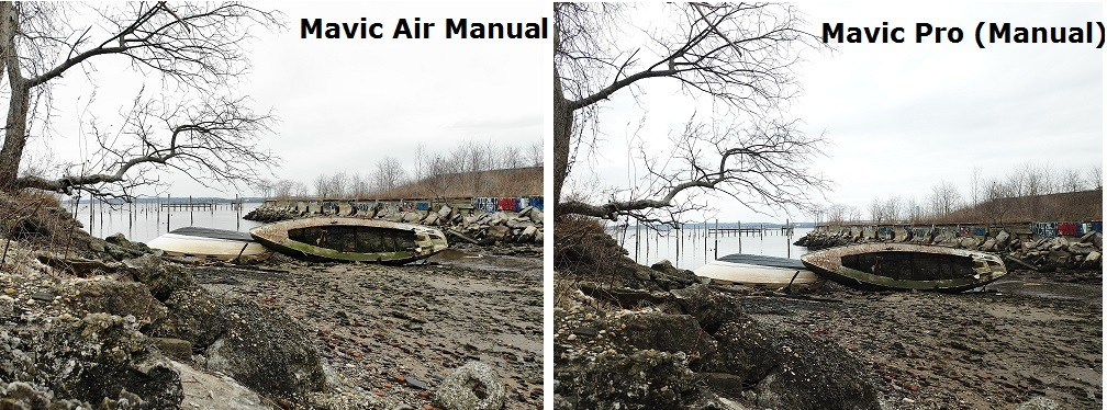 mavic air 1 vs mavic pro 1 camera comparison 2