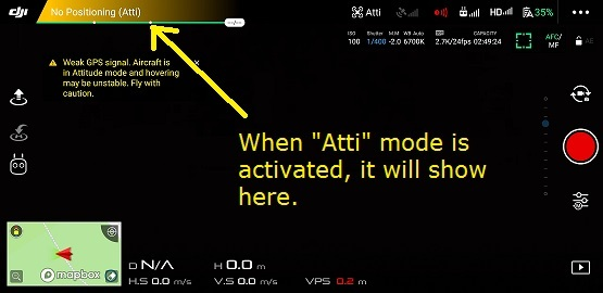 what is atti mode on drones