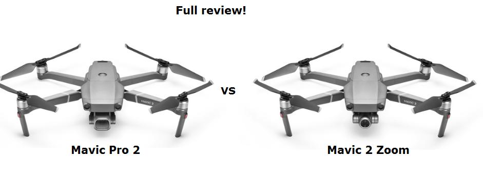mavic pro 2 vs mavic zoom