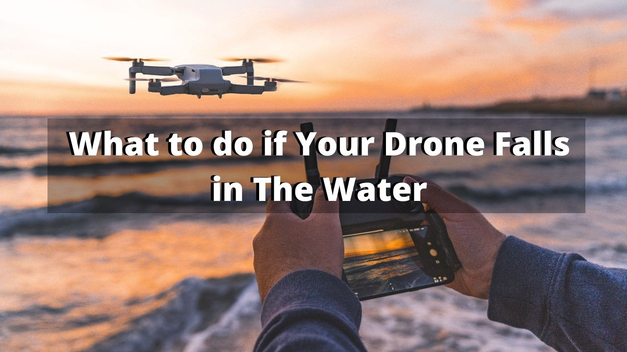Drone Fell in The Water
