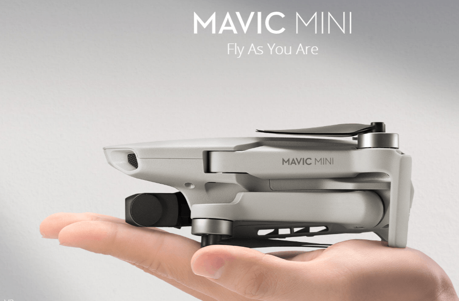 dji mavic mini review screenshot